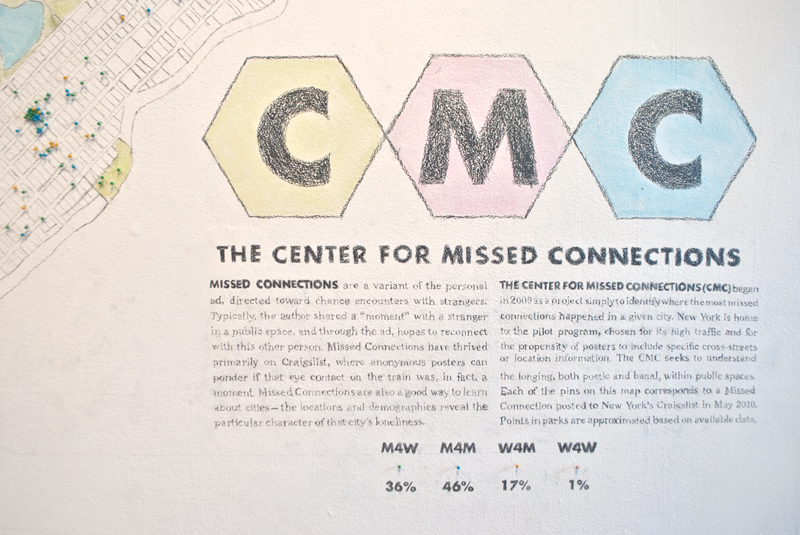 The Center for Missed Conections
